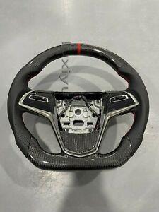 100% Carbon Fiber Custom Steering Wheel for Cadillac CTSL CTS ATS ATSL in stock