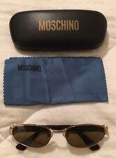 Moschino Vintage Sunglasses Unisex M 3063-S Glasses NICE RARE Htf !
