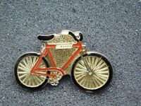 VINTAGE METAL PIN    BICYCLE