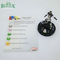 Heroclix Age of Ultron Movie set Iron Legion #002 Gravity Feed figure w/card!