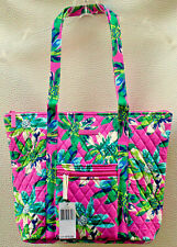 Vera Bradley Villager Tote Bag in Tropical Paradise.  Handbag Shoulder bag.  NWT