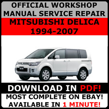 # OFFICIAL WORKSHOP Service Repair MANUAL MITSUBISHI DELICA 1994-2007