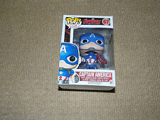 FUNKO POP CAPTAIN AMERICA, VAULTED AVENGERS AGE OF ULTRON, MARVEL #67 FIGURE, NM