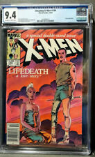 New listing Uncanny X-Men 186 Cgc 9.4 Nm Ow/W Pages N/Case Newsstand Edition