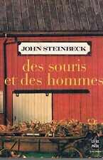 Des Souris Et Des Hommes   John Steinbeck livre de poche