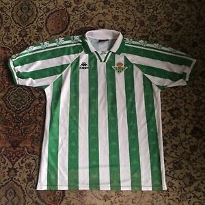 Real Betis 1995 - 97 Vintage Kappa XL Home Shirt Number 16, Player Issue?