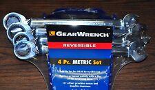 Danaher KD 9601 4 Piece Reversible Gear Wrench Set- 21,22,24,25 MM metric