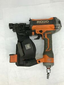 Ridgid R175RNF 1-3/4 in. pneumatic Coil Roofing Nailer Nail Gun, GD #2