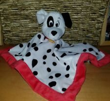 DISNEY Lovey Security Blanket 101 DALMATIONS Dog Puppy Plush Baby Soft Toy
