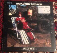 PAPA JOHN CREACH filthy! 1972 US GRUNT STEREO VINYL LP HOT TUNA
