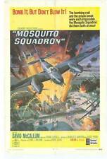 MOSQUITO SQUADRON Movie POSTER 27x40 David McCallum Suzanne Neve Charles Gray