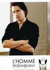 F- Publicité Advertising 2008 Parfum L'Homme Yves St Laurent O Martinez