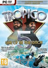 PC Game Tropico 5 Game of the Year Edition GOTY DVD Shipping NEW
