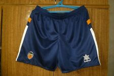 Valencia CF Luanvi Vintage Football Shorts Training 1998 Blue Men Size L Large
