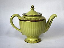 """Hall Teapot Yellow with Gold Trim """"Los Angeles"""""""