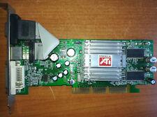 Scheda Video AGP 8x Ati Radeon R9200SE  PcPartner con 128 Mb (vga+TVOut+DVI)