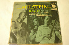 Bach Partitas 1 & 2 Milstein Capitol P 8298 green label German VG- LP VG- cover