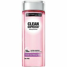2 Pack:  Maybelline New York Clean Express Classic Eye Makeup Remover, 4 oz each