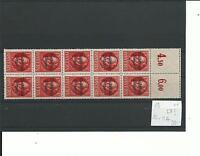 Bayern, 1919, postfrisch, echt, Mi.-Nr. 120IIA, Bogenteil mit Leerfeld, rar,