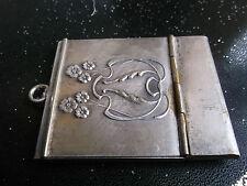 Entzückende Streichholzschachtel o.ä. oder Notizblockbehälter,Jugendstil,D.R.G.M