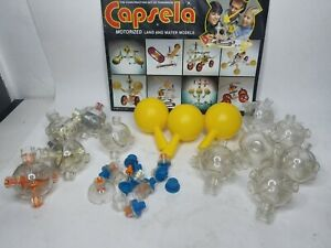 Capsela Lot Loose Peices W/ Manual