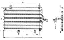 NRF Condensador, aire acondicionado FIAT ALFA ROMEO 146 145 155 LANCIA 35052
