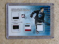 10-11 ITG H&P Complete Jersey Gold LOGAN COUTURE 1/1