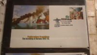 2001 AUSTRALIAN MILITARY BOMBING OF DARWIN FIRST DAY COVER, COWRA GARDENS PM