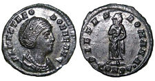 HIGH QUALITY RARE ROMAN COIN, THEODORA , first wife of Constantius I, AE4+++