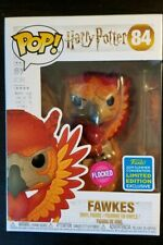Funko Pop Fawkes Flocked #84 Harry Potter SDCC Exclusive