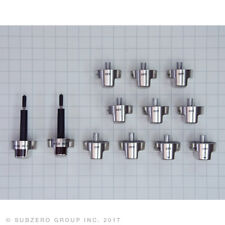 New listing New Wolf Stainless Steel Knobs Kit W/(2)-Selectors for Df48 And Df60 Models
