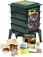 Worm Factory 360, Deluxe 4-Tray Worm Composter - Green - FREE SHIPPING