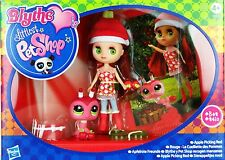 Blythe Loves Littlest Pet Shop - Colourfully Cute Collection - Apple Picking Red