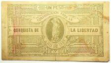 1927 Mexico Contribucion Conquista Libertad Peso #11835