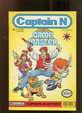 CAPTAIN N GAMEMASTER #1 (9.2) WELCOME TO VIDEOLAND!! 1990
