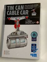 Toysmith Tin Can Cable Car  Project Hobby Kids Science Mechanic Kit DIY New