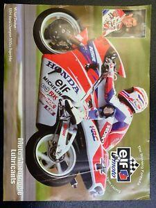 Elf Oil Ad With 1994 World Champion Superbike Michael Doohan
