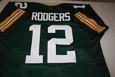 AARON RODGERS #12 SEWN STITCHED JERSEY SIZE XXL ALL PRO SUPER BOWL MVP