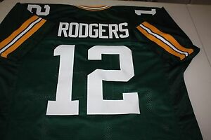 AARON RODGERS #12 SEWN STITCHED JERSEY SIZE XL ALL PRO SUPER BOWL MVP