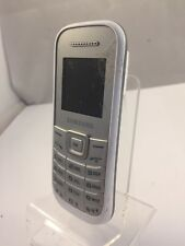 Cracked - Incomplete - Samsung E1200I - Unknown network - White - Mobile Phone