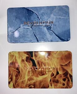 Make Up Revolution London Forever Flawless Lidschattenpaletten Fire & Ice
