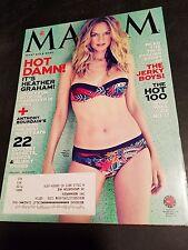 Maxim magazine Heather Graham 2013