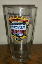 Nokia Sugar Bowl 2000 National Championship Budweiser King of Beers Pint Glass