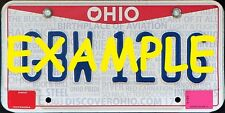 HO 1:87 MONSTER LICENSE PLATES CSX NS SOUTHERN 2004+ OHIO VEHICLE CARS TRUCKS
