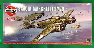 Airfix 1/72 Vintage Classics Series Savoia-Marchetti SM79 Aircraft Kit
