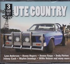 UTE COUNTRY - VARIOUS ARTISTS on 3 CD's -  NEW -