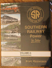 MORNING SUN BOOKS - SOUTHERN RAILWAY POWER In Color Volume 2 - HC 128 Pages