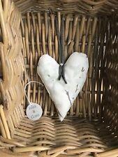 Laura Ashley hanging heart in forsythia natural lavender scented sachet