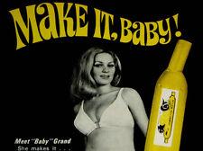 1970 SCAT CAT MUFFLER AD/SEXY VINTAGE PIN-UP/TOOL BOX ART-exhaust/headers/camaro