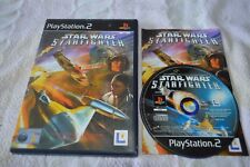 Star Wars Starfighter - PS2 (Tested Complete PAL)
